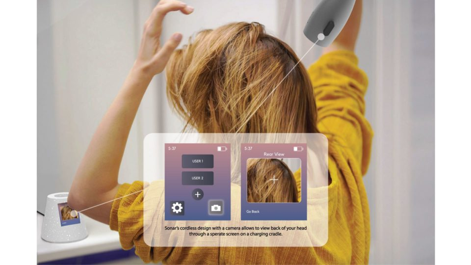 interaction; hair dryer