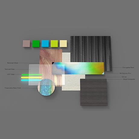 Iridescent Impressions; CMF; Digital Tray