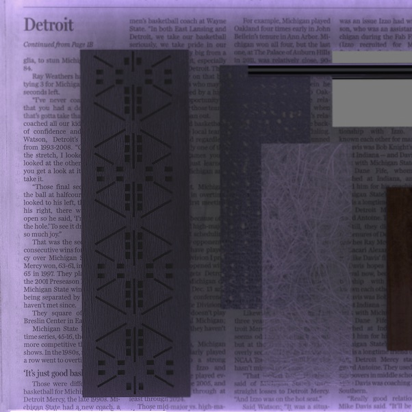 digital tray; Detroit; the grid; 7479 Hamtramck Drive; brand values; resilience; strength; community; material language; vernacular materials; synthesized surfaces; dimensional vastness