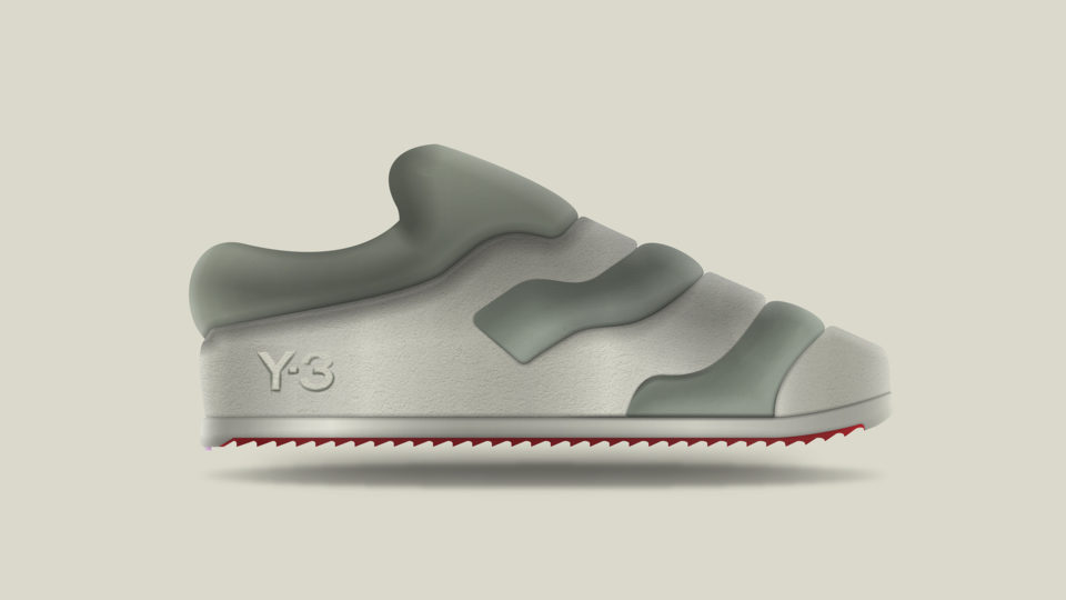 Footwear; Adidas', Y-3; house slippers; shoes; comfort