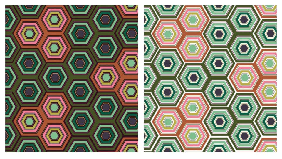 Digital painted; pattern
