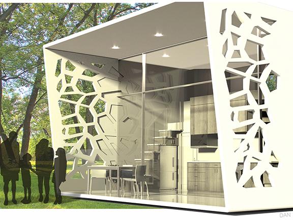 aeroponic vertical farming, digital image, product design