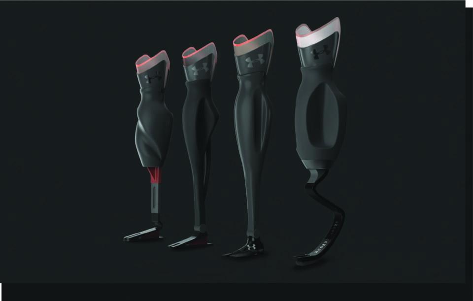 Prosthetics, Product Design, Branding, 3D Models