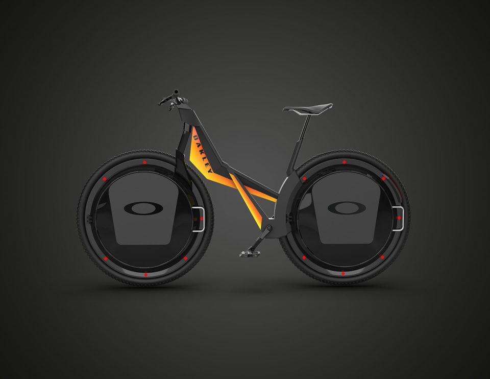 Bike, Oakley brand, digital image, product design