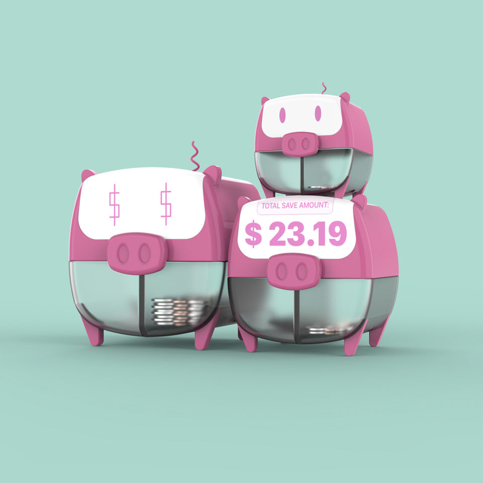 3 Piggy Banks