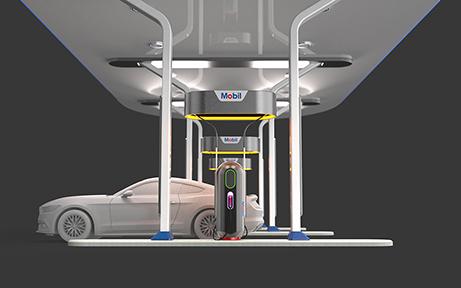 A consumer friendly gas pump.
