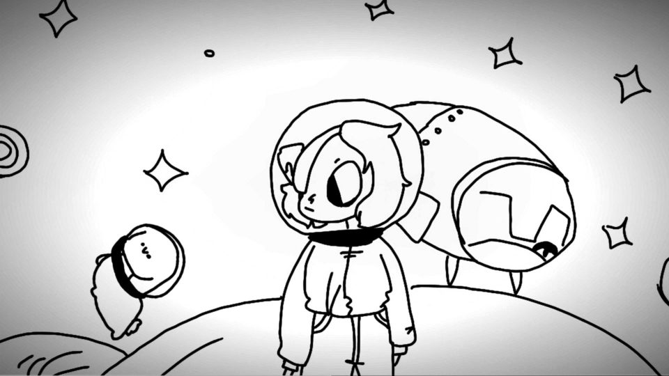 Digitally drawn animation with Flipaclip