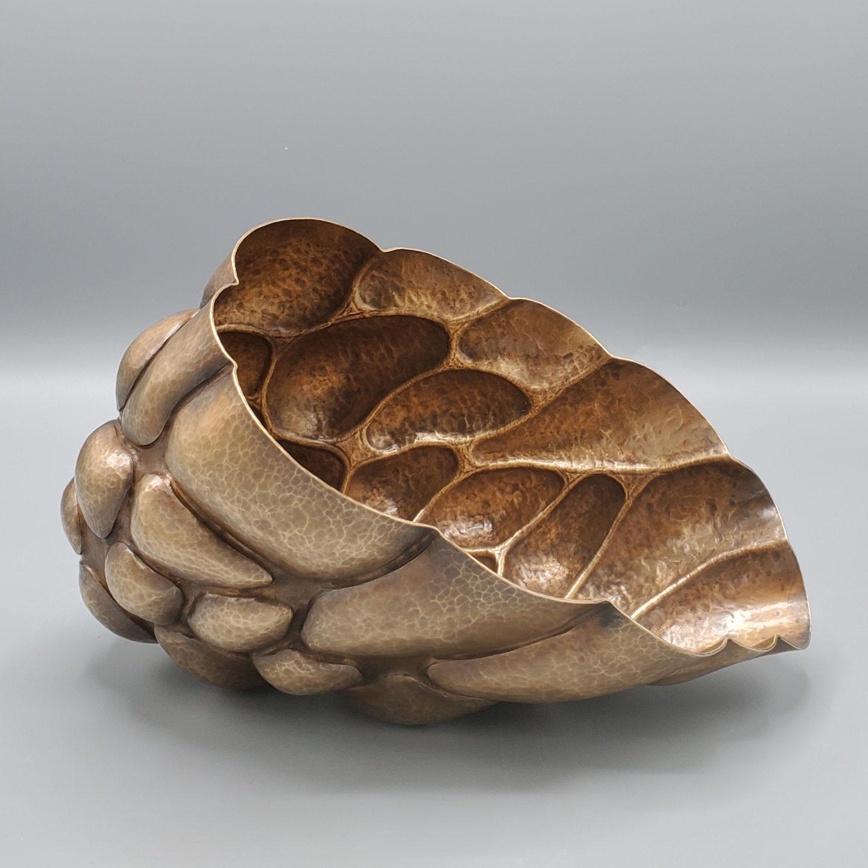 Bronze Sculpture (Looks like a cornucopia)