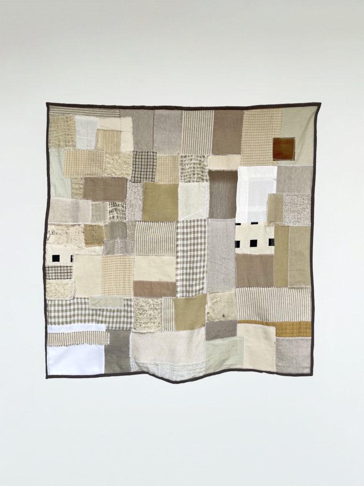 Natural Fiber Weaving with Driftwood Fragment