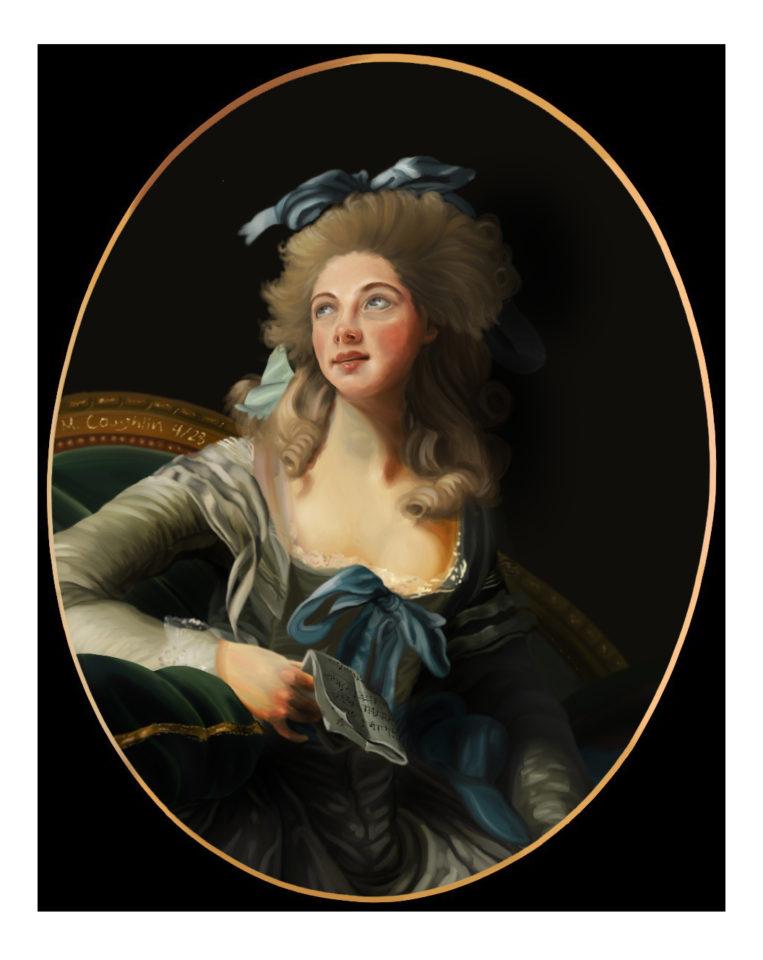 Digital Painting of Madame Grand Master