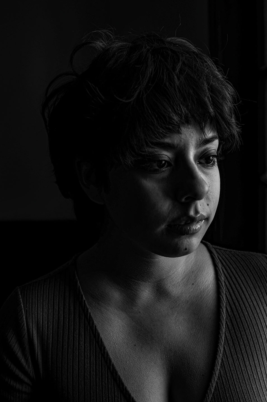 Portrait using natural lighting