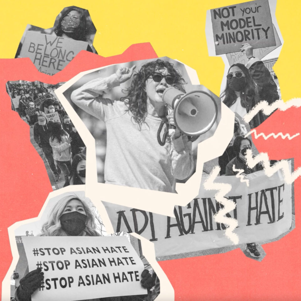social media post for #StopAsianHate campaign