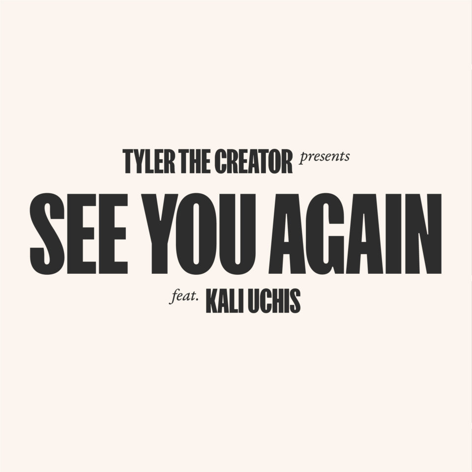 Motion lyric video for Tyler the Creator's single 'See you again'