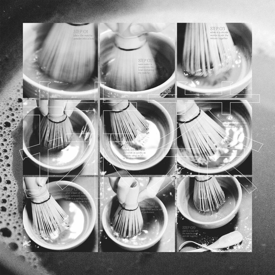 Semiotics object study exploring the traditional Japanese bamboo matcha whisk.