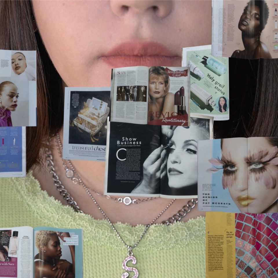 Motion video about making a mundane part of life feel extraordinary. A take on the routine of putting on makeup.