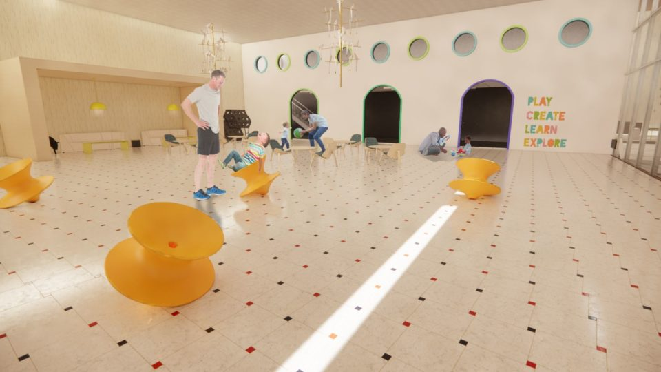 Prison Children Room