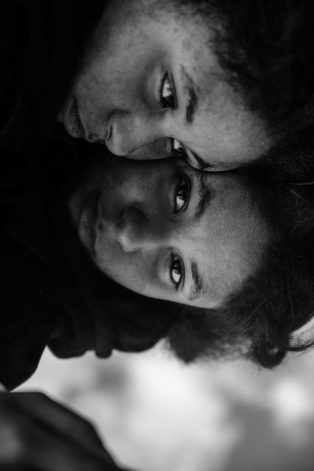 A series of photos that represent the unseen beauty of how others see us, and how we see ourselves.