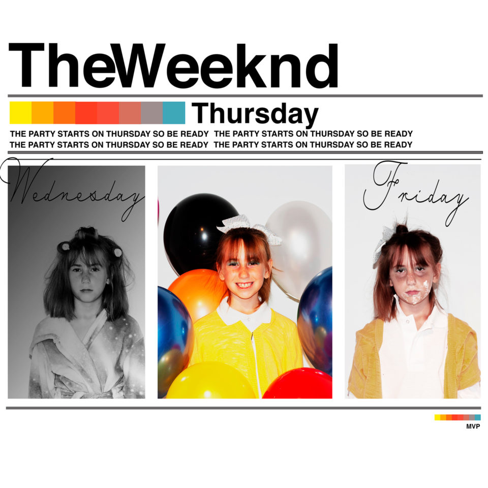 """This was my appropriation of one of my favorite mixtape covers """"Thursday"""" by The Weeknd."""