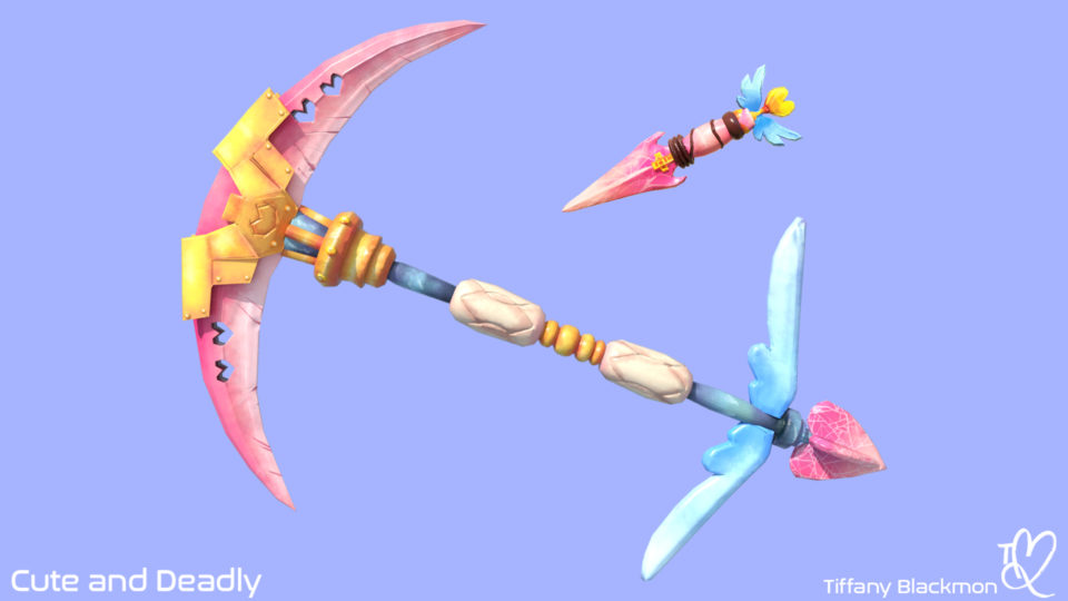 Set of the cutest magical weapons