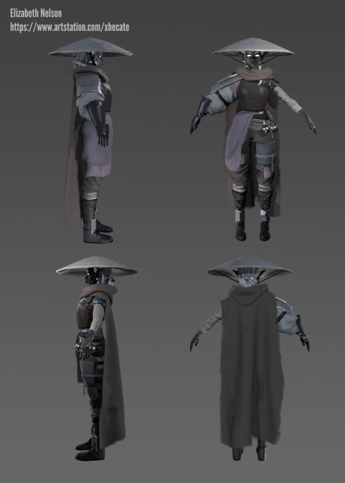 Protagonist of game concept