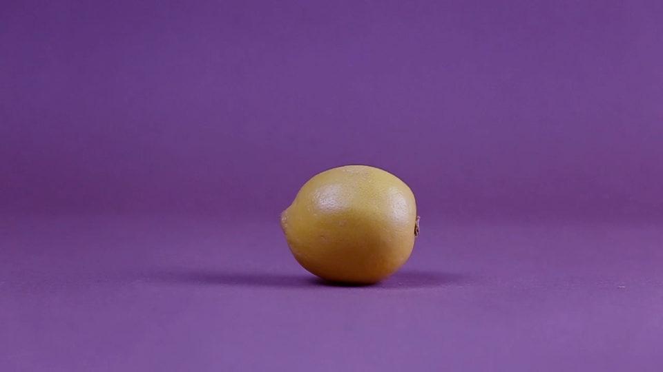 Experimental film about lemons