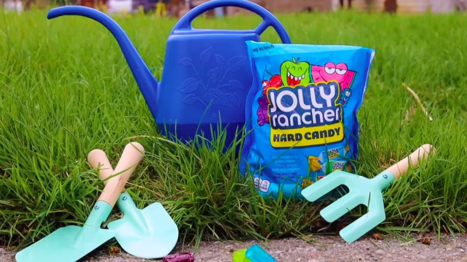 Tiktok caption: Share your Jolly Rancher creation with #SipofSummer for a chance to win a 50 lbs bag of Jolly Ranchers to share with a friend this summer!