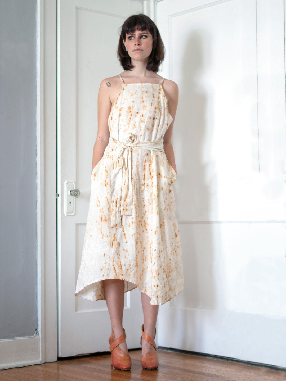 Vachetta Leather Linen
