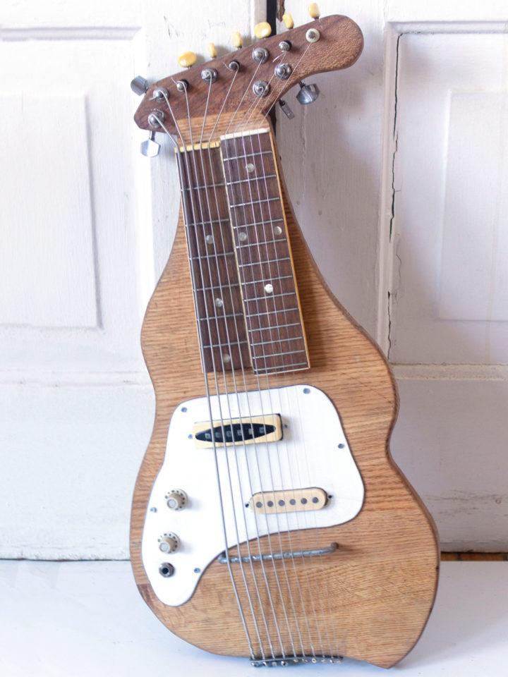 Oak, Steel Strings, Reclaimed Wood,
