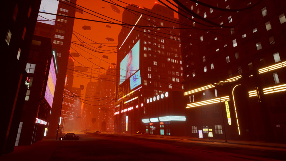 Created as a homage of sorts to the Blade Runner 2049 film. It reimagines what Chicago might look like in a future where water consumption has become too high causing the Great Lakes to dry up and fire to plague the Mid-West.
